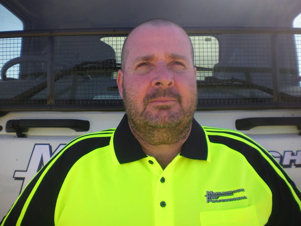 Brent Crouch Is Managing Director At Marlborough Turf Professionals