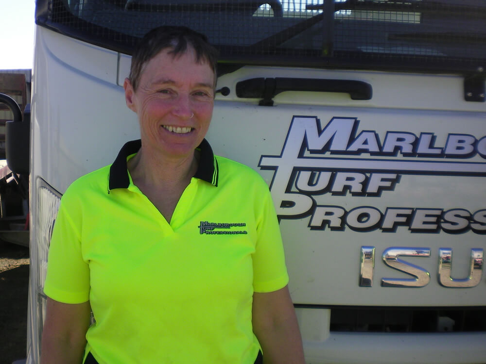 Linda Crouch Is Office Manager At Marlborough Turf Professionals