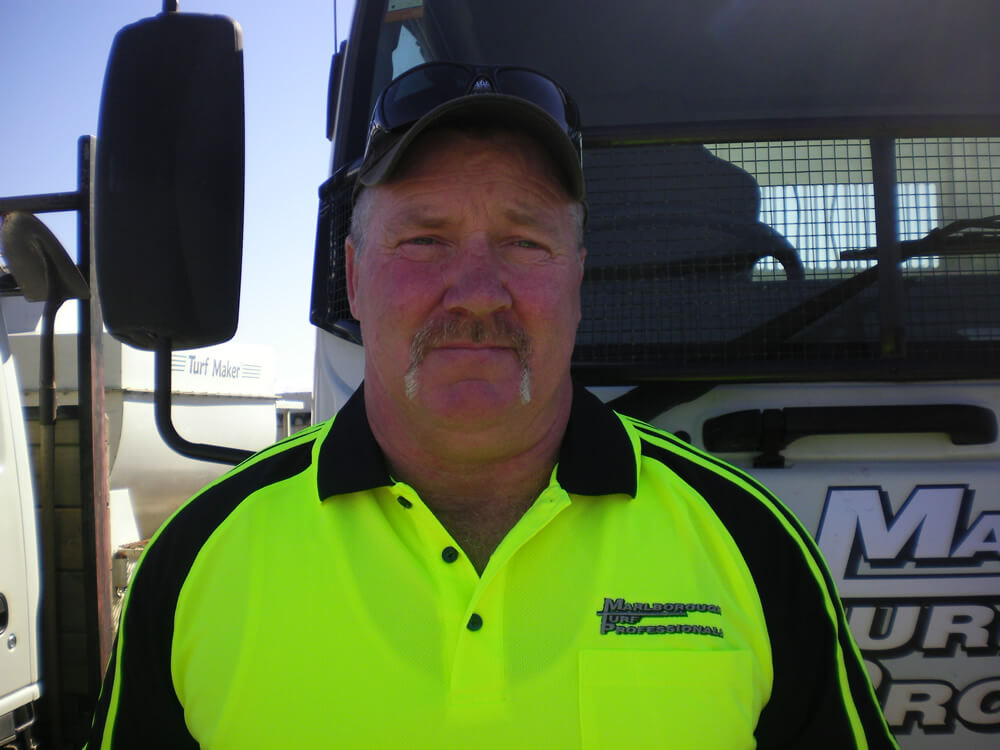 Steve Hayes Is Managing Director At Marlborough Turf Professionals