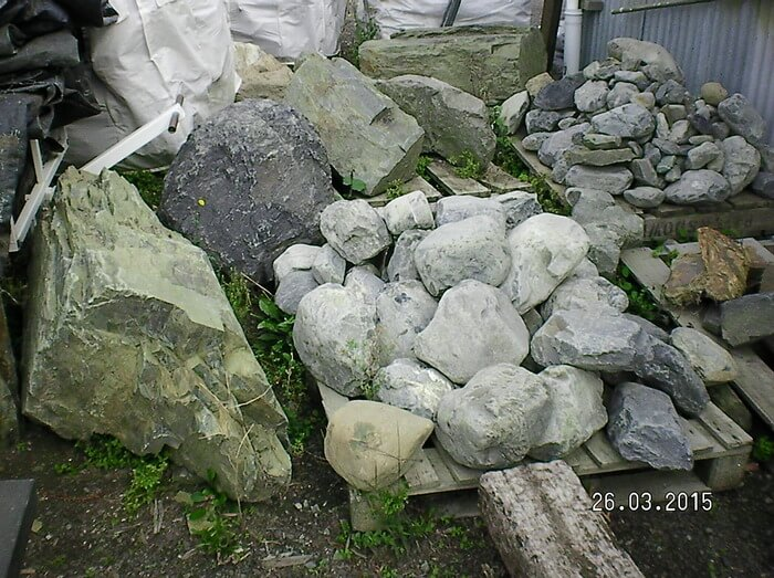 Landscape rocks, sample 5 - available from Marlborough Turf Professionals