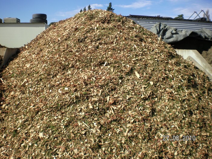 Wood Chip Mulch Available From Marlborough Turf Professionals